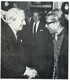 Bangabandhu arrives in Pakistan in January 1972. He is welcomed by the British premier Edward Health